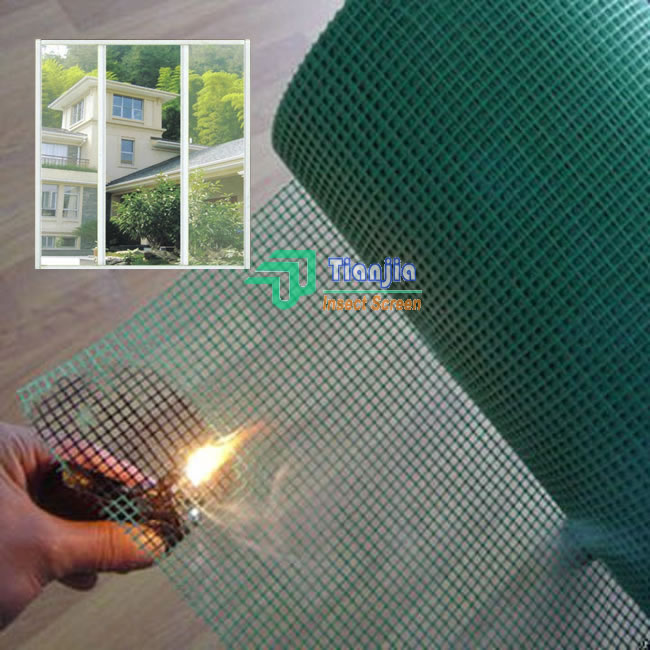 Fiberglass Window Screen Colored Coated Pet Screen