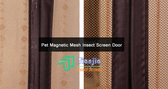 Polyester Mesh Screen Door